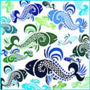 Plenty Of Fish In The Sea 4 Art Print