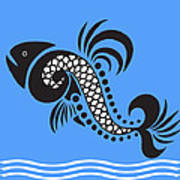 Plenty Of Fish In The Sea 4 Fish Art Print