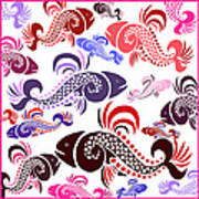 Plenty Of Fish In The Sea 6 Art Print
