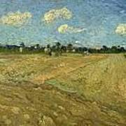 Ploughed Fields - The Furrows Art Print