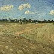 Ploughed Fields Art Print