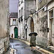 Pluie A Chartres - 1 Art Print