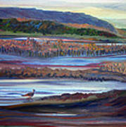 Plum Island Salt Marsh Sunset Art Print