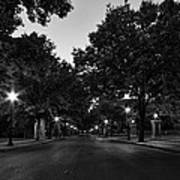 Plum Street To Franklin Square Art Print