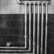 Plumbing Symmetry Art Print