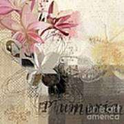 Plumeria - 064073079m3 Art Print