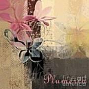 Plumeria - 64-115152167m4t3b Art Print