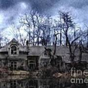 Plunkett Mansion Art Print