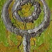 Pluto Glyph Art Print
