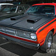 Plymouth Duster 340 Art Print