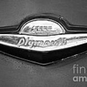 Plymouth Trunk Emblem Art Print
