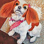 P'nut Fur Angel In Heaven Art Print