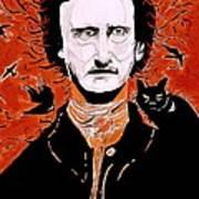 Poe Poe Art Print by Tyler Schmeling