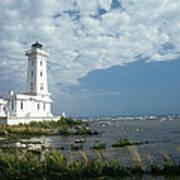 Point Abino Lighthouse Art Print