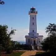 Point Abino Lighthouse Path Art Print