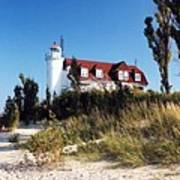 Point Betsie Lighthouse Art Print