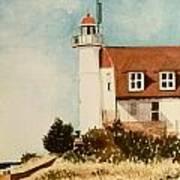 Point Betsie Lighthouse Art Print