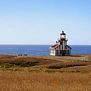Point Cabrillo Light House Art Print