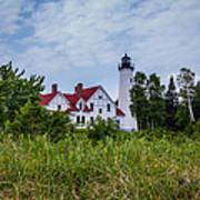 Point Iroquois Lighthouse Art Print