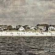Point Lookout Beach  Vintage Art Print