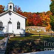 Point Mountain Community Church - Wv Art Print