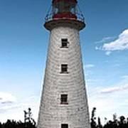 Point Prim Lighthouse 3 Art Print