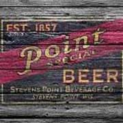 Point Special Beer Art Print