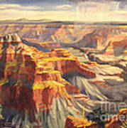 Point Sublime - Grand Canyon Az. Art Print