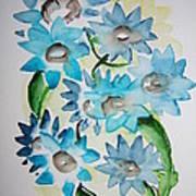 Pointy Petals Art Print