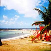 Poipu Beach Kauai Hawaii Art Print