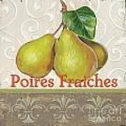 Poires Fraiches Art Print by Debbie DeWitt