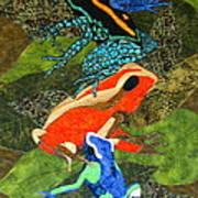 Poison Dart Frogs Art Print