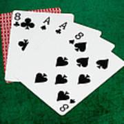Poker Hands - Dead Man's Hand 2 V.2 Art Print