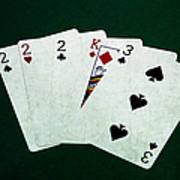 Poker Hands - Three Of A Kind 1 Art Print
