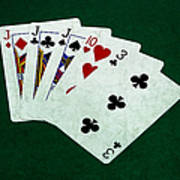 Poker Hands - Three Of A Kind 3 Art Print