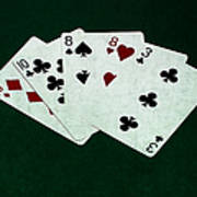 Poker Hands - Two Pair 4 Art Print