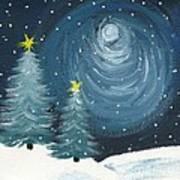 Polar Vortex 2014 Art Print