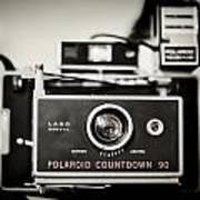Polaroid Countdown 90 Art Print