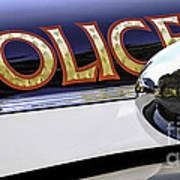 Police Car Art Print