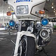 Police Honda Art Print