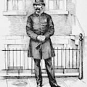 Policeman, C1885 Art Print
