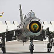 Polish Air Force Su-22 Fitter Art Print