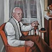Polish Grandfather Art Print