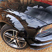Polished To Perfection - Mustang Gt Print by Gill Billington