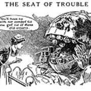 Political Cartoon, 1916 Art Print