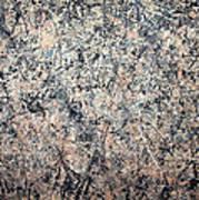 Pollock's Number 1 -- 1950 -- Lavender Mist Art Print