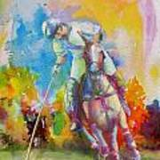 Polo Art Art Print