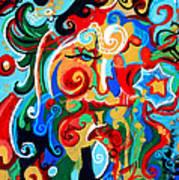 Polynomial Name God Phase I Art Print