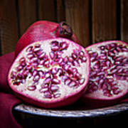 Pomegranate Still Life Print by Tom Mc Nemar