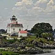 Pomham Rocks Lighthouse Art Print